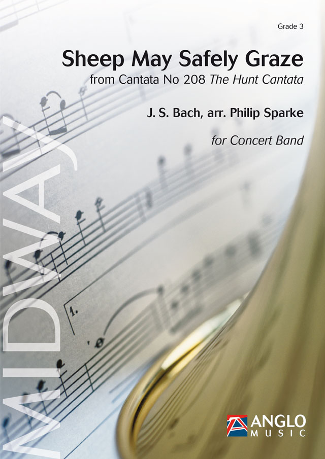Johann Sebastian Bach: Sheep May Safely Graze: Concert Band: Score
