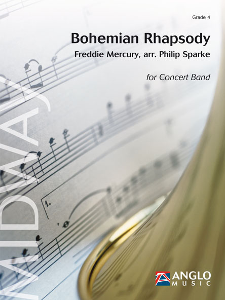 Freddie Mercury: Bohemian Rhapsody: Concert Band: Score & Parts