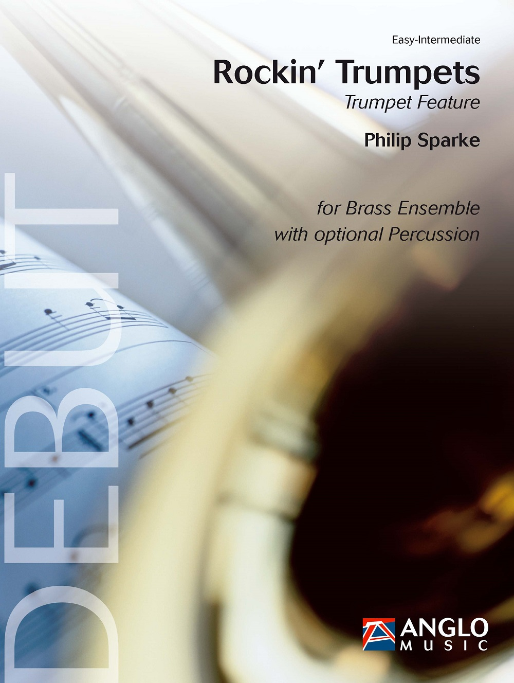 Philip Sparke: Rockin' Trumpets: Brass Ensemble: Score and Parts