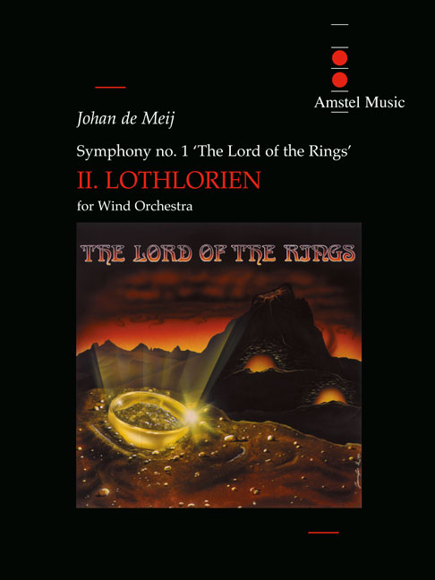 Johan de Meij: The Lord of the Rings (III) - Gollum: Concert Band: Score and
