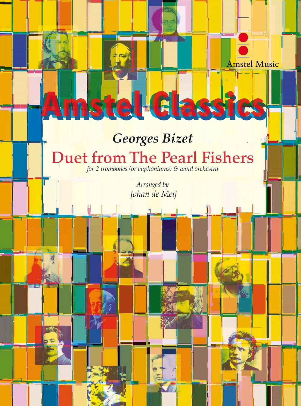 Georges Bizet: Duet From The Pearl Fishers: Concert Band: Score and Parts