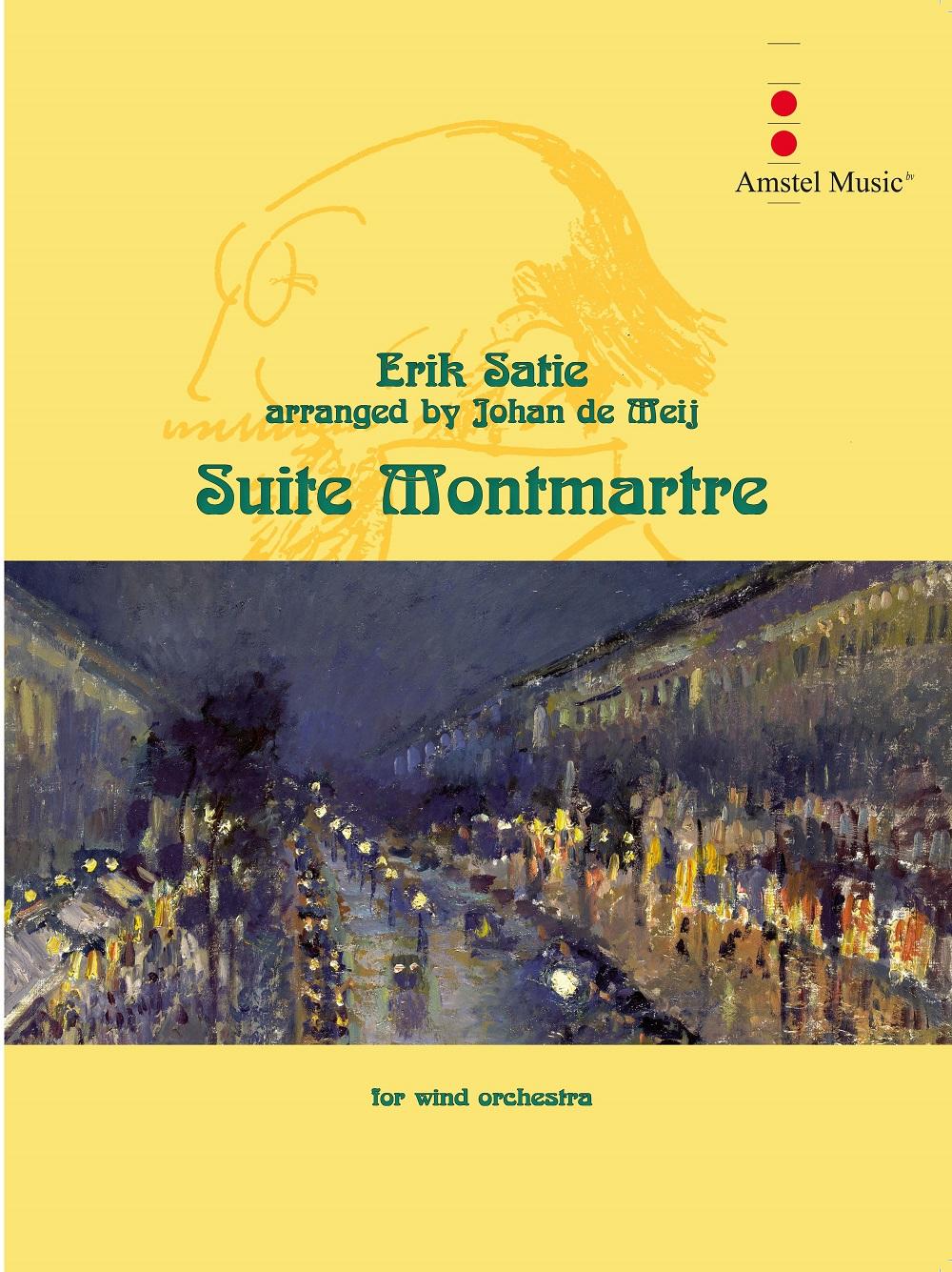 Erik Satie: Suite Montmartre: Concert Band: Score