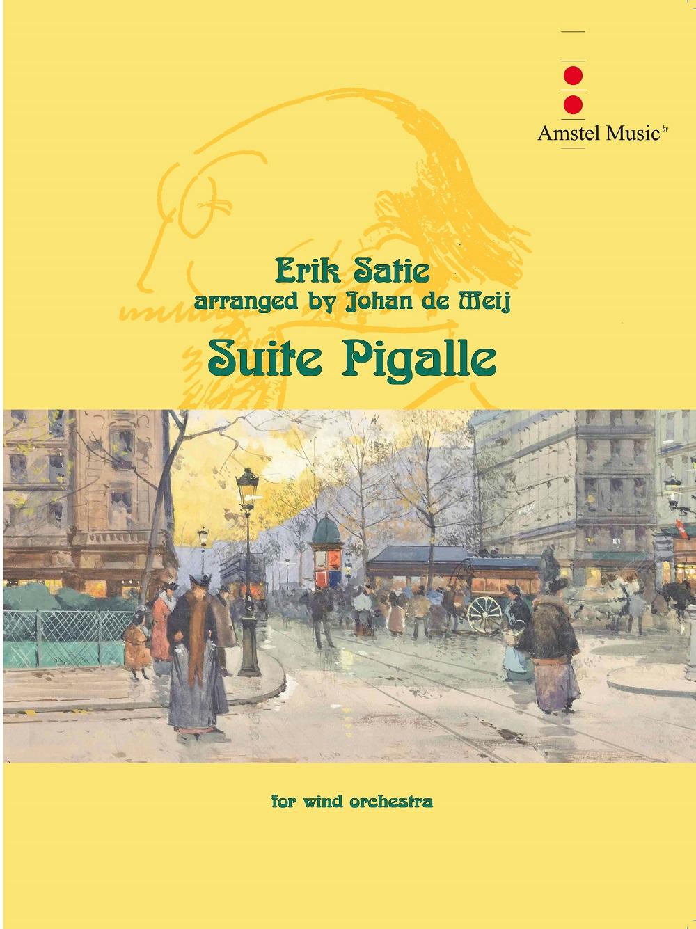 Erik Satie: Suite Pigalle: Concert Band: Score