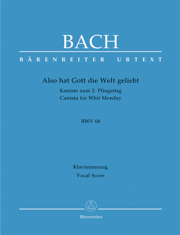 Johann Sebastian Bach: Cantata Bwv 78 Jesu  Der Du Meine Seele: Mixed Choir: