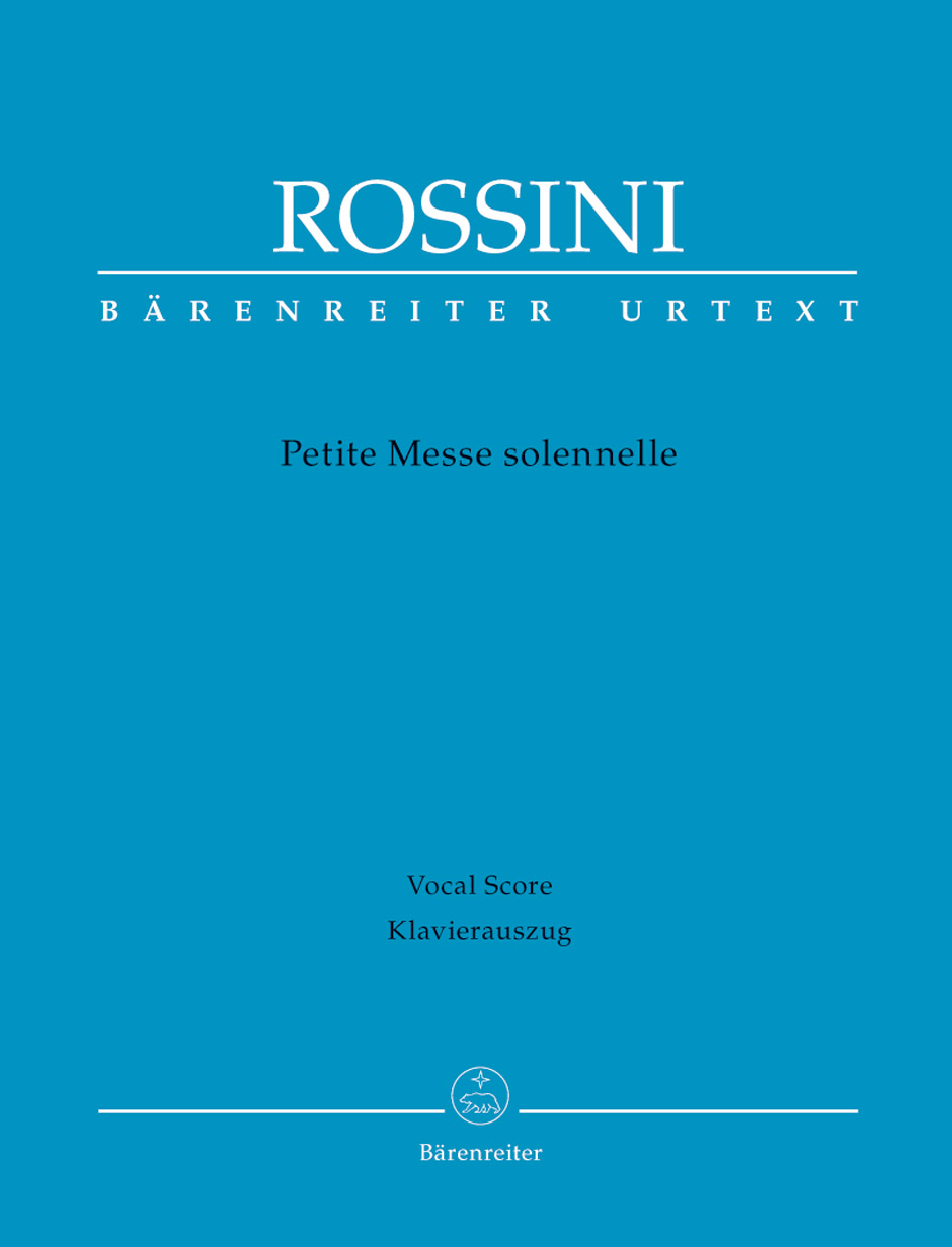 Gioachino Rossini: Petite Messe Solennelle: Mixed Choir: Vocal Score