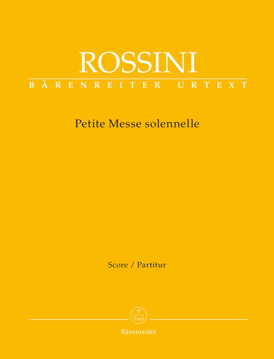Gioachino Rossini: Petite Messe solennelle: Mixed Choir: Score