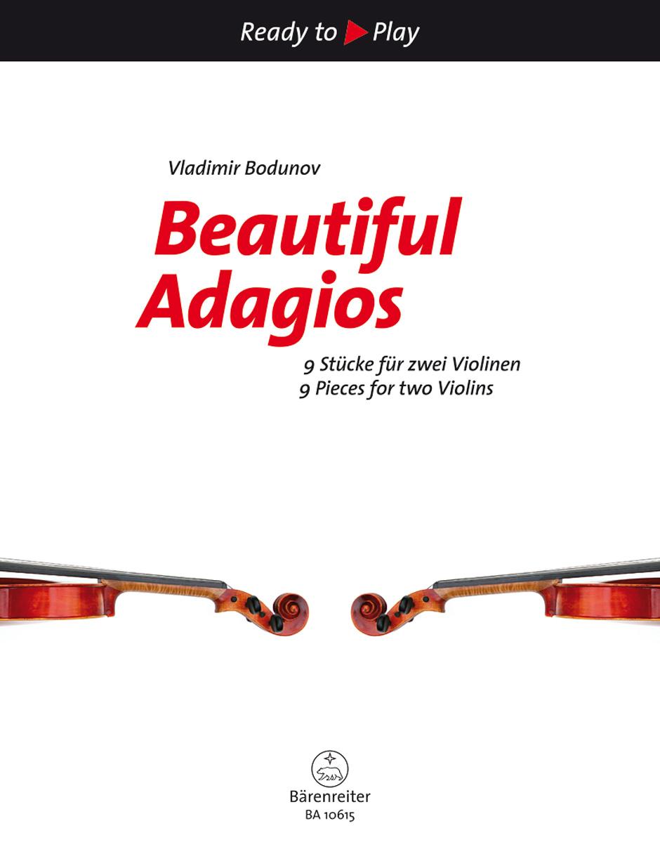 Beautiful Adagios: Violin Duet: Parts