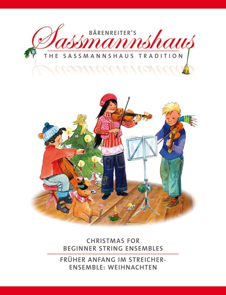 Christmas For Beginner String Ensembles: String Ensemble: Score