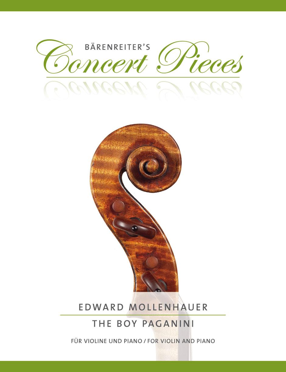 Edward Mollenhauer: The Boy Paganini: Violin: Instrumental Work