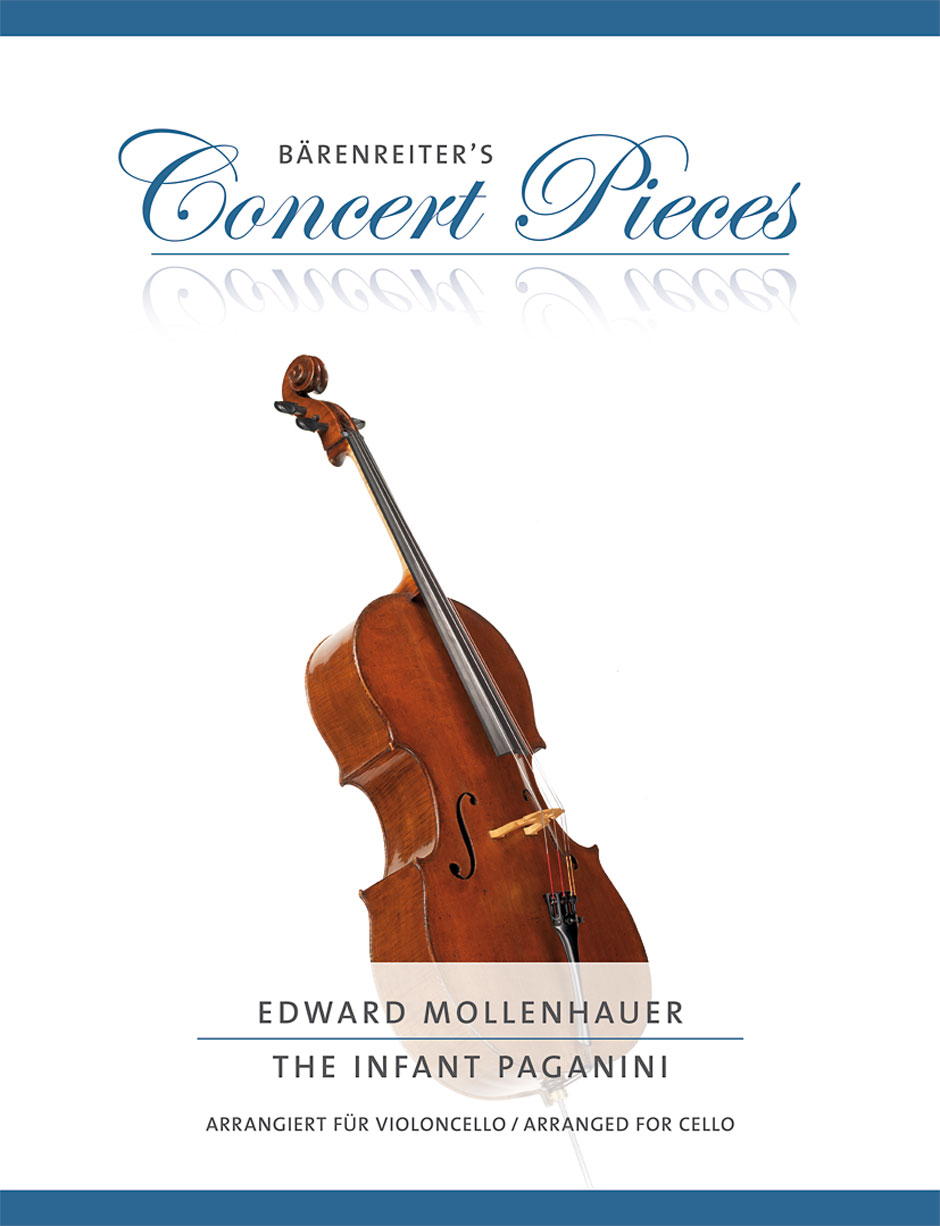 Edward Mollenhauer: The Infant Paganini: Cello: Instrumental Work