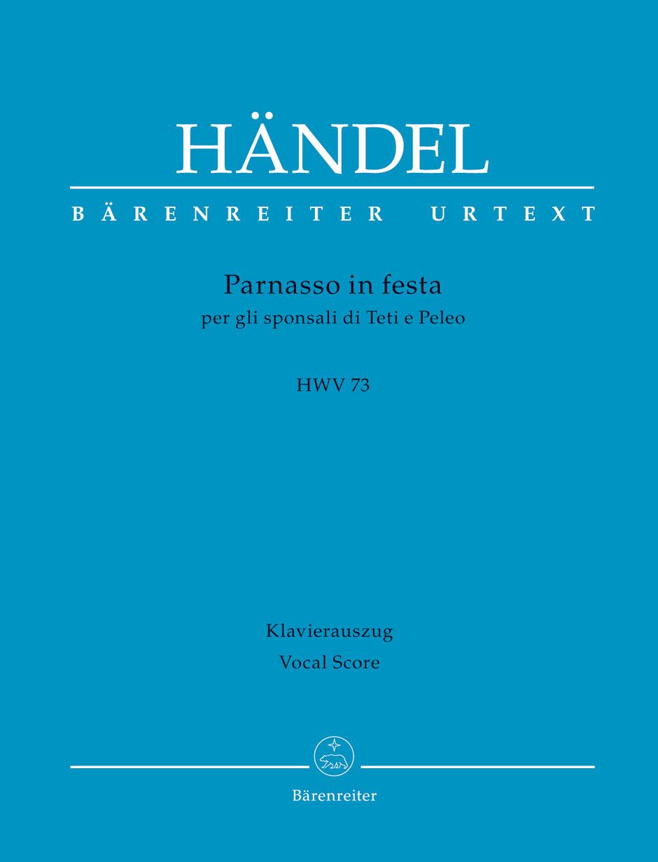 Georg Friedrich Händel: Parnasso In Festa HWV 73: Mixed Choir: Vocal Score