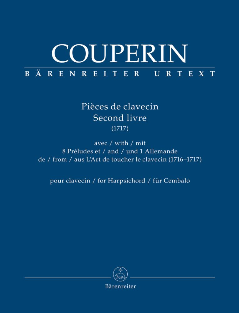 François Couperin: Pieces De Clavin: Harpsichord: Instrumental Album