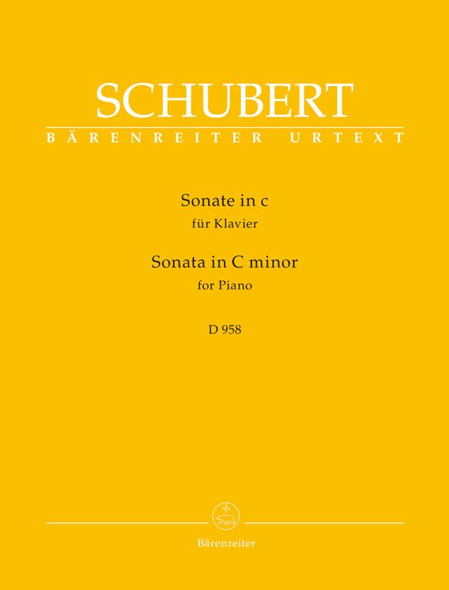 Franz Schubert: Sonata In C Minor D 958: Piano: Instrumental Work