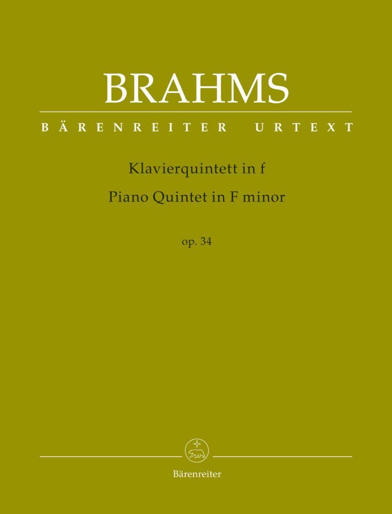 Johannes Brahms: Piano Quintet in F minor op. 34: Chamber Ensemble: Instrumental