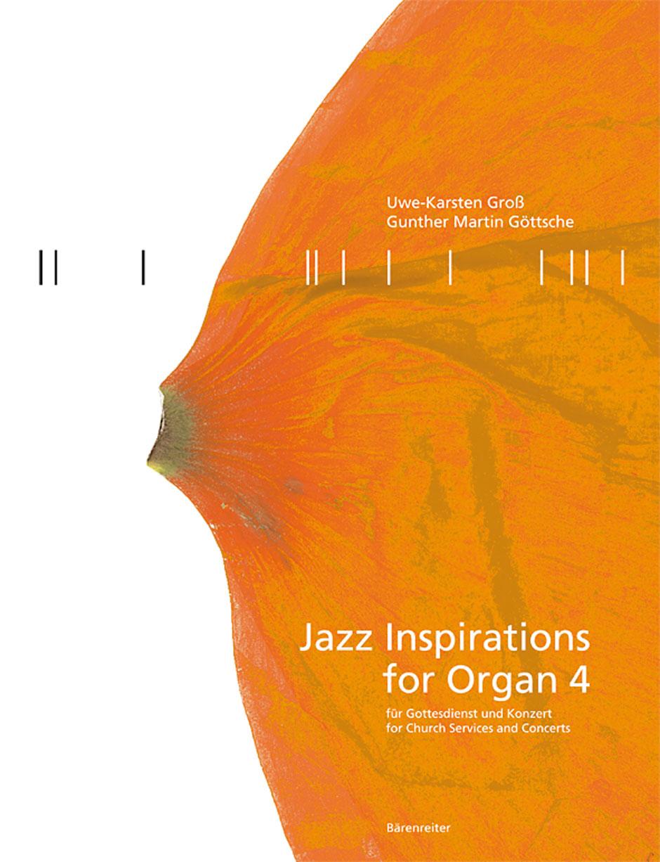 Jazz Inspirations for Organ  Vol. 4: Organ: Instrumental Album