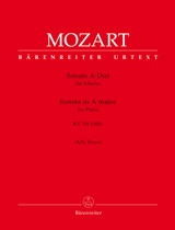Wolfgang Amadeus Mozart: Sonate A-Dur KV 331 (300i): Piano: Score