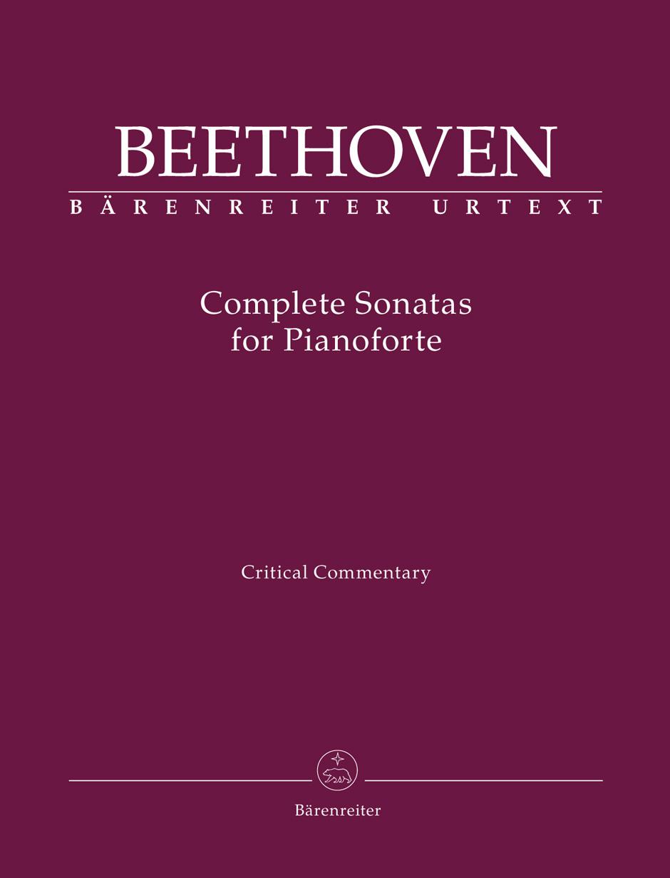 Ludwig van Beethoven: Complete Sonatas for Pianoforte - Critical Report: Piano: