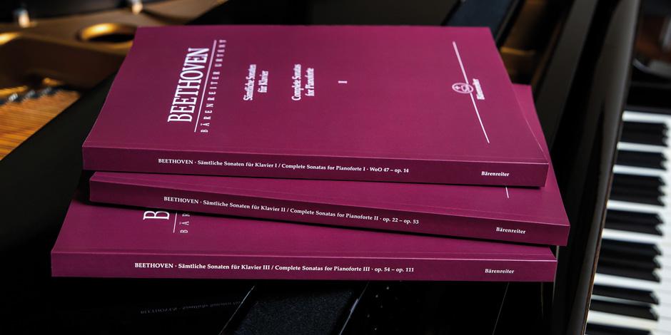 Ludwig van Beethoven: Complete Sonatas for Pianoforte I-III: Piano: Scores