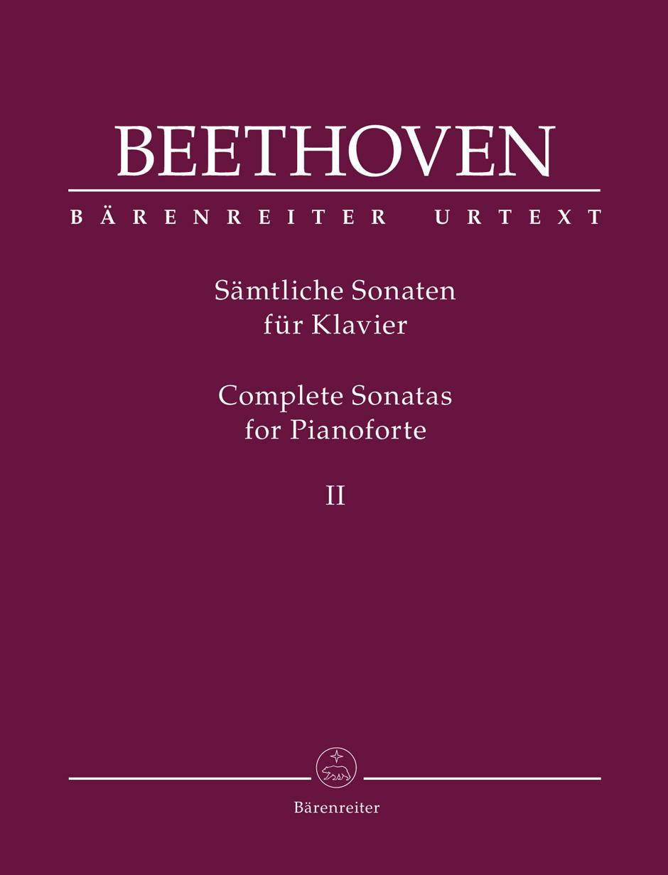 Ludwig van Beethoven: Complete Sonatas for Pianoforte II: Piano: Instrumental