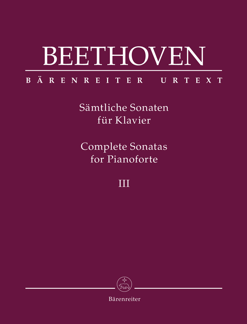 Ludwig van Beethoven: Complete Sonatas for Pianoforte III: Piano: Instrumental