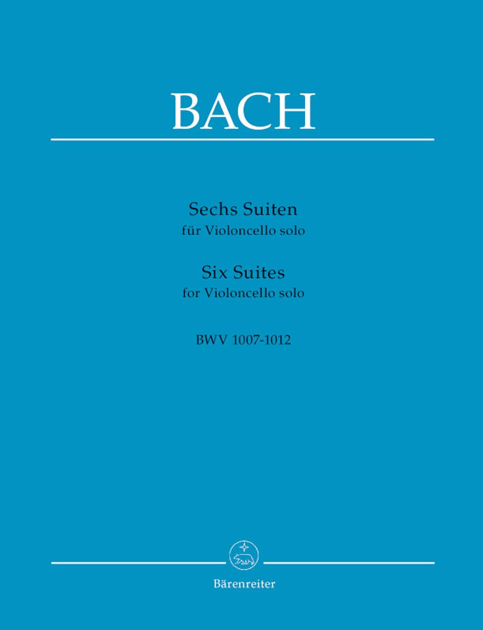 Johann Sebastian Bach: Six Suites For Cello Solo BWV 1007-1012: Cello: