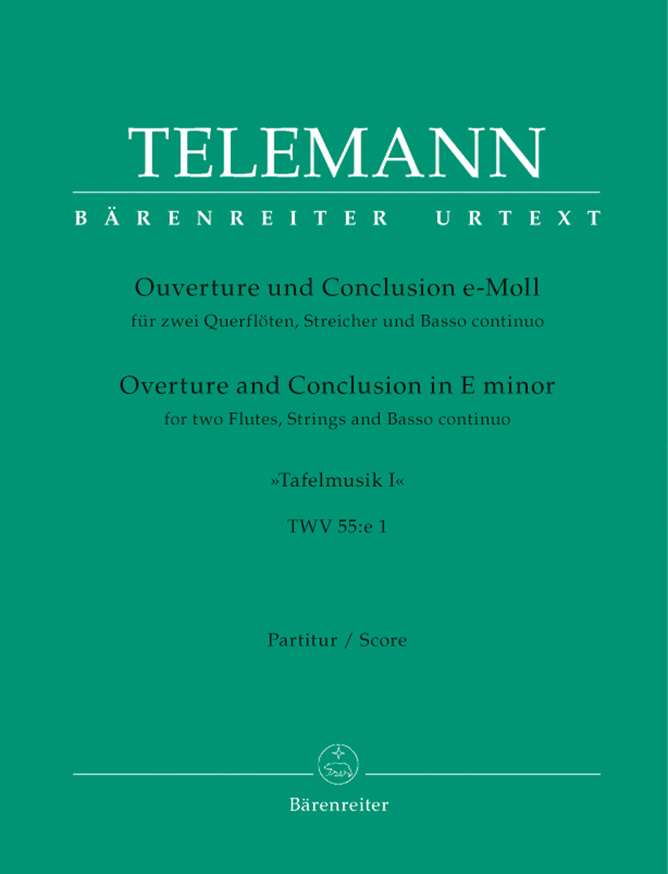 Georg Philipp Telemann: Overture and Conclusion in E minor TWV 55: Chamber