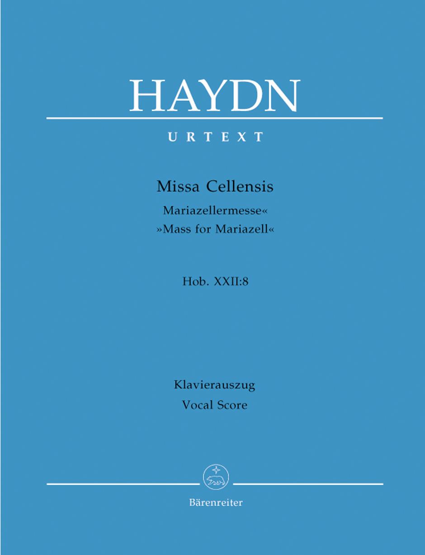 Franz Joseph Haydn: Missa Cellensis: Mixed Choir: Vocal Score
