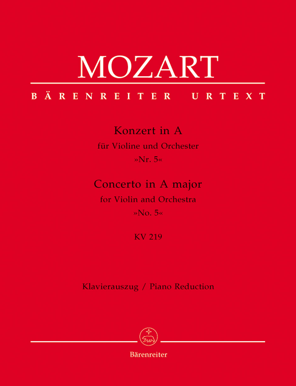 Wolfgang Amadeus Mozart: Violin Concerto No.5 In A K.219: Ensemble: Instrumental