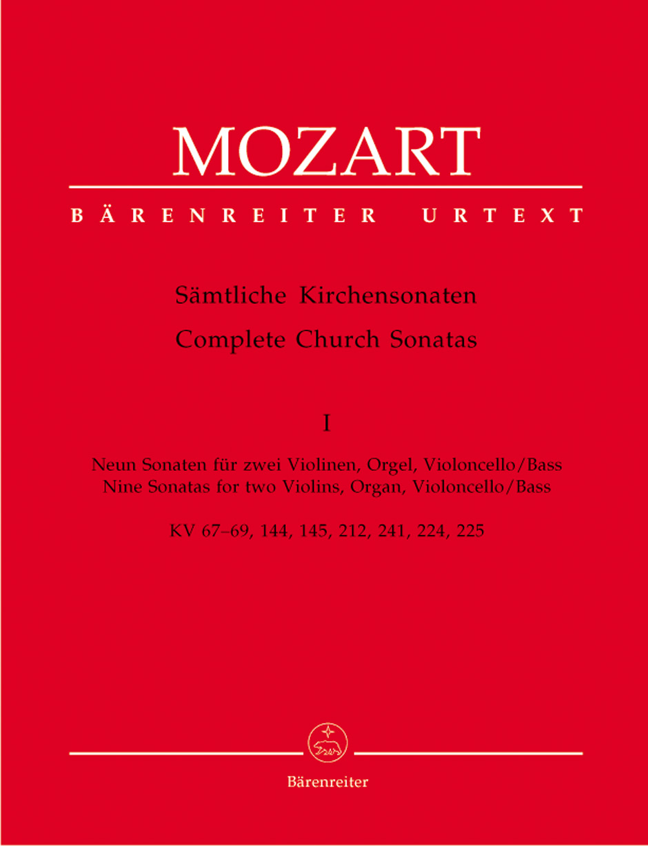 Wolfgang Amadeus Mozart: Complete Church Sonatas Book 1: String Ensemble: