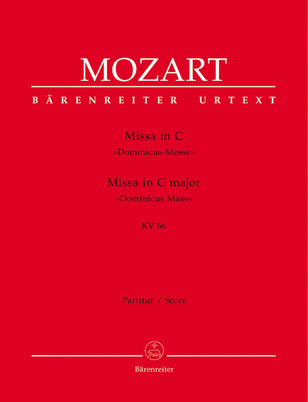 Wolfgang Amadeus Mozart: Missa In C Major K.66: Mixed Choir: Score