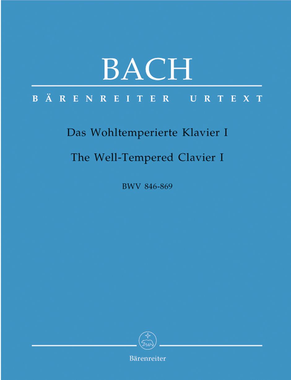 Johann Sebastian Bach: The Well-Tempered Clavier I: Piano or Harpsichord: