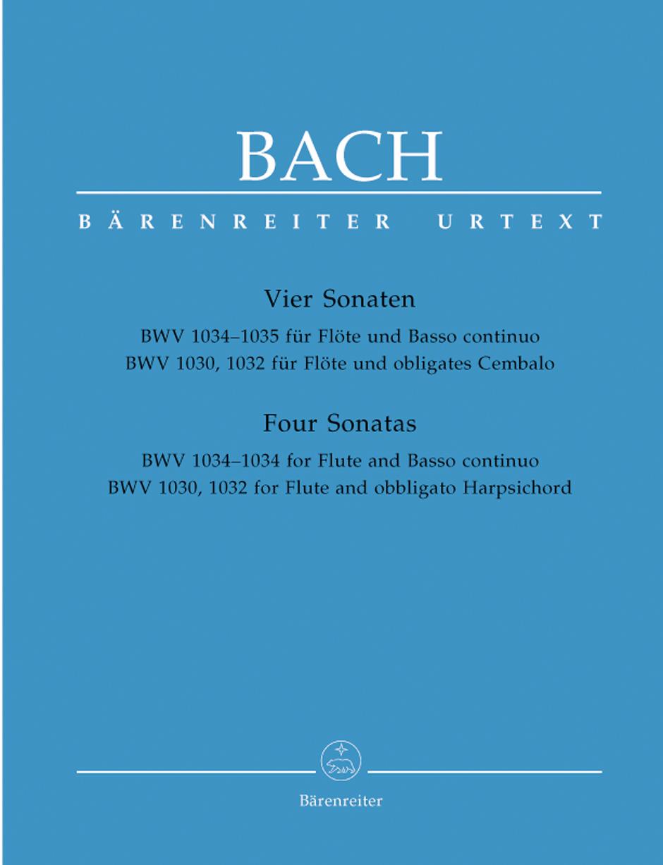 Johann Sebastian Bach: Four Flute Sonatas: Flute: Instrumental Album