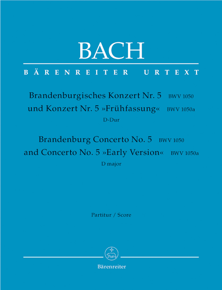 Johann Sebastian Bach: Brandenburg Concerto No.5 In D Major BWV 1050: Flute &