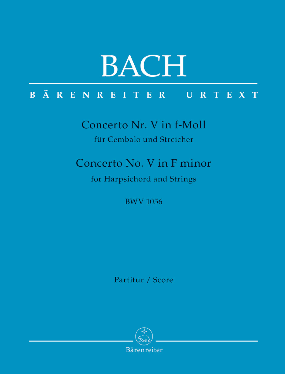 Johann Sebastian Bach: Concerto For Harpsichord No.5 In F Minor: Chamber
