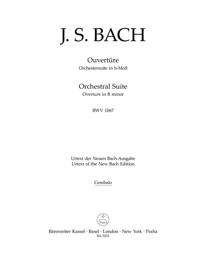 Johann Sebastian Bach: Orchestral Suite - Overture No.2 In B Minor: Orchestra: