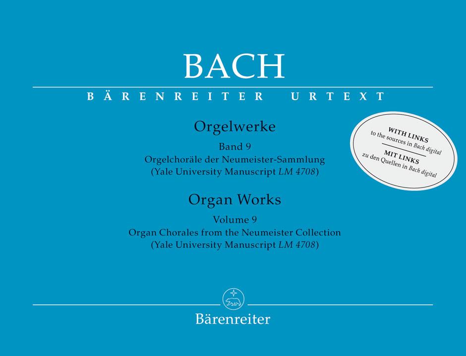 Johann Sebastian Bach: Organ Works Volume 9: Organ: Instrumental Album