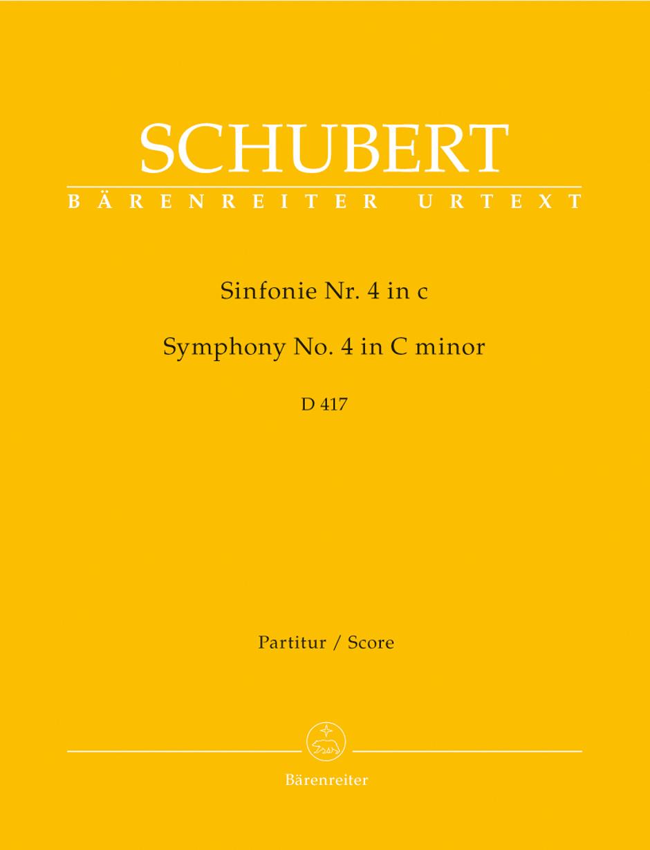 Franz Schubert: Symphony No.4 In C Minor - D 417 Tragic: Orchestra: Score