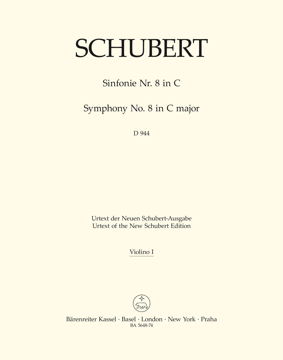 Franz Schubert: Symphony No.8 In C D 944 The Great: Orchestra: Part