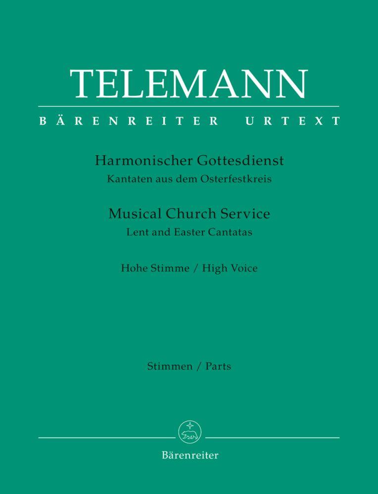 Georg Philipp Telemann: Der Harmonische Gottesdienst: Treble Clef Instruments: