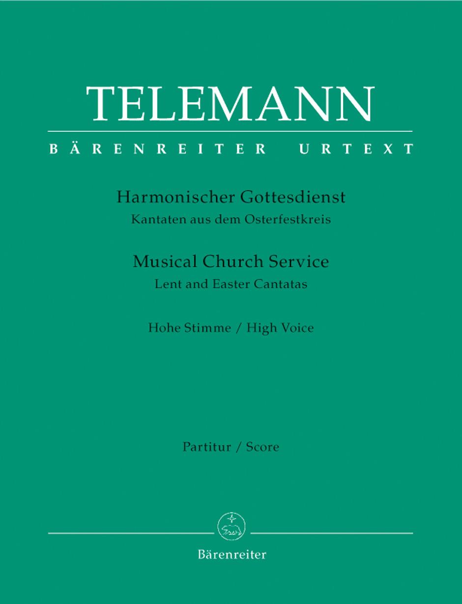 Georg Philipp Telemann: Der Harmonische Gottesdienst: Soprano: Score and Parts