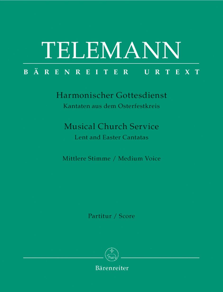 Der Harmonische Gottesdienst: Mezzo-Soprano: Score and Parts