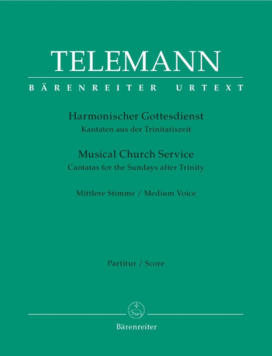 Georg Philipp Telemann: Der Harmonische Gottesdienst: Mezzo-Soprano: Score and