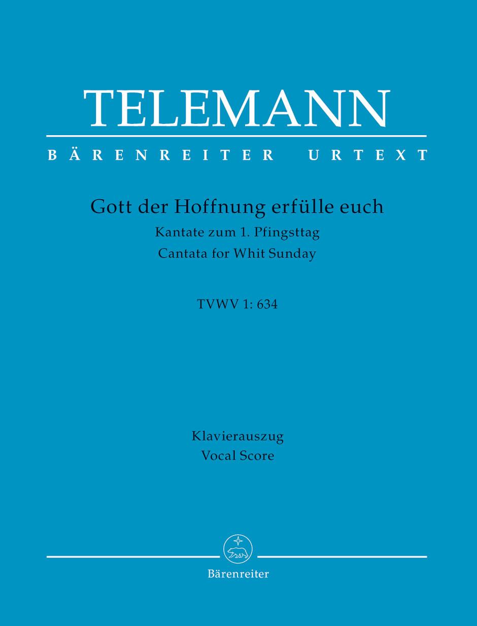 Georg Philipp Telemann: Gott Der Hoffnung Erfülle Euch: Mixed Choir: Vocal Score