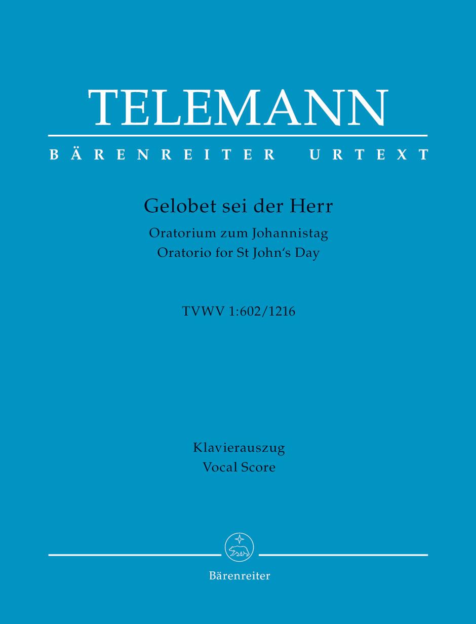 Georg Philipp Telemann: Gelobet sei der Herr: Vocal Score