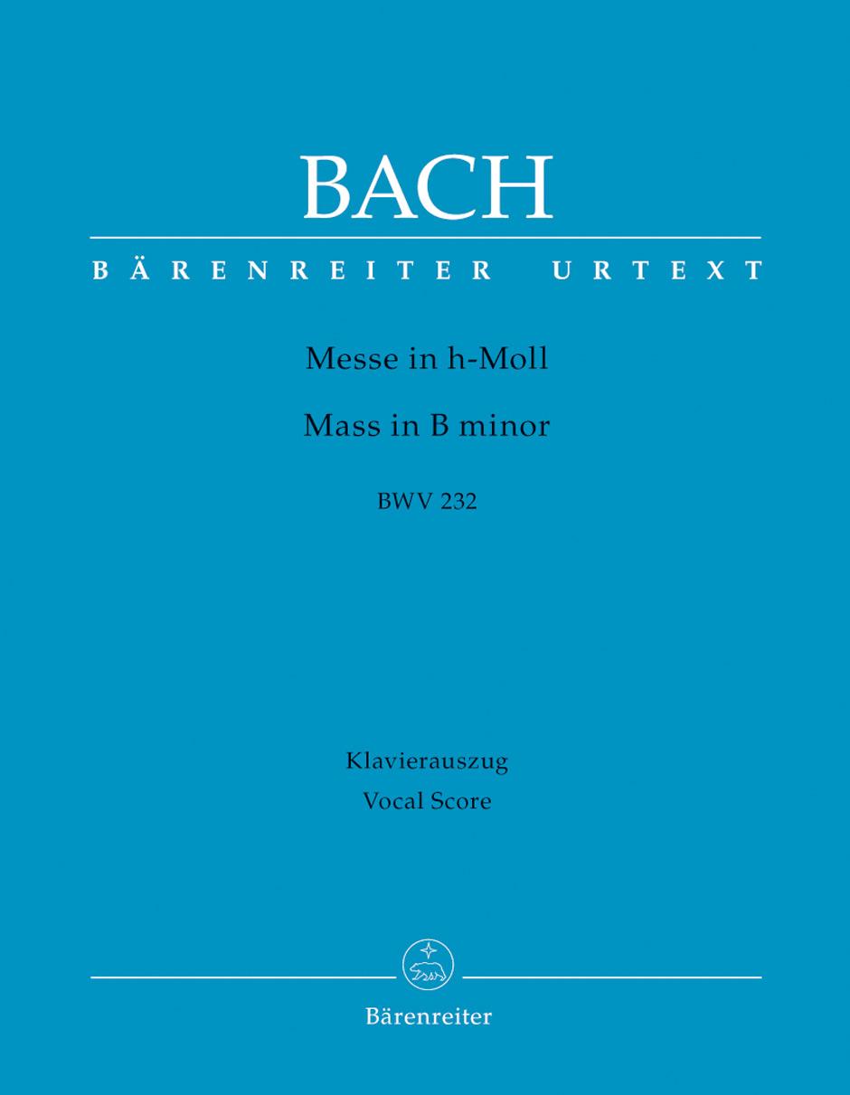 Johann Sebastian Bach: Mass in B minor: Voice: Vocal Score