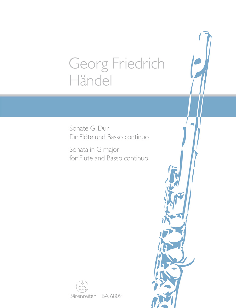 Georg Friedrich Händel: Sonata for Flute and Basso continuo in G major: Flute:
