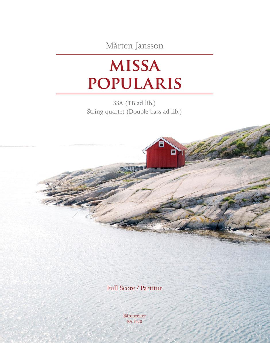 Mårten Jansson: Missa Popularis: SSA: Score