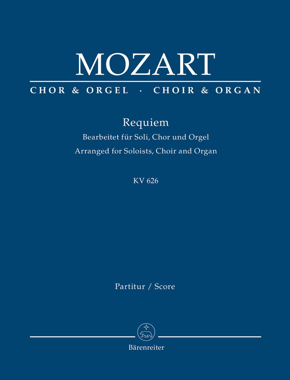 Wolfgang Amadeus Mozart: Requiem K.626: SATB: Vocal Score