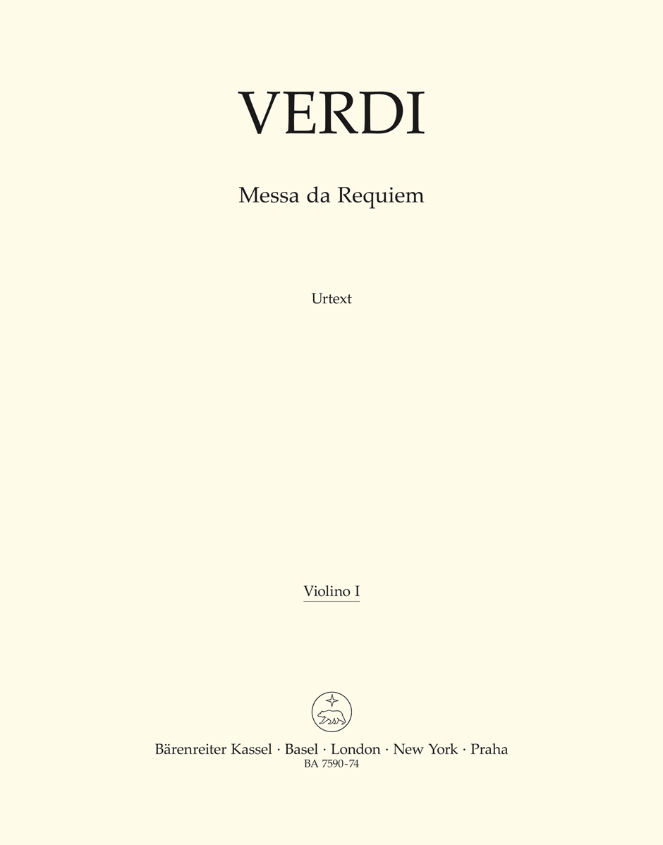 Giuseppe Verdi: Requiem: Mixed Choir: Part