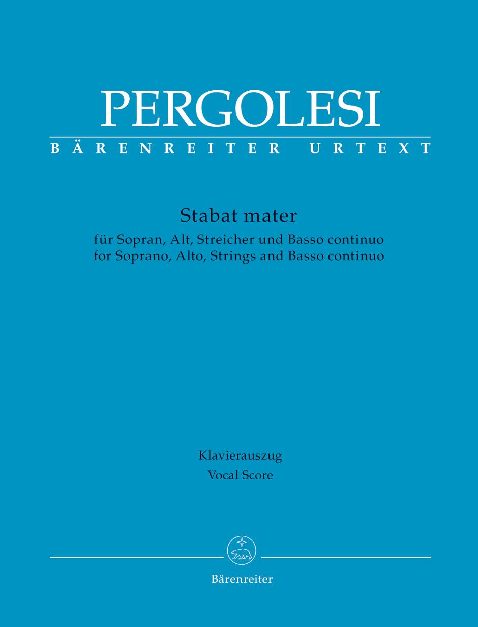 Giovanni Battista Pergolesi: Stabat Mater: Mixed Choir: Vocal Score